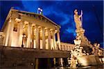 Austrian Parliament Building, Vienna, Austria Stock Photo - Premium Rights-Managed, Artist: R. Ian Lloyd, Code: 700-05609914