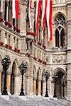Close-Up of Rathaus, Vienna, Austria Stock Photo - Premium Rights-Managed, Artist: R. Ian Lloyd, Code: 700-05609918
