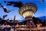 Giant Swing at Carnival in front of Rathaus, Vienna, Austria Stock Photo - Premium Rights-Managed, Artist: R. Ian Lloyd, Code: 700-05609920