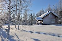 Winter Scene, Kuusamo, Northern Ostrobothnia, Finland Stock Photo - Premium Rights-Managednull, Code: 700-05609964