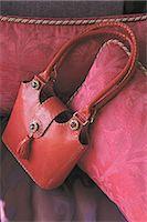 Red handbag Stock Photo - Premium Royalty-Freenull, Code: 689-05610680