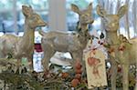 Christmas decoration with deer figurines Stock Photo - Premium Royalty-Free, Artist: Raimund Linke, Code: 689-05610753