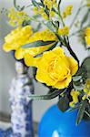 Yellow roses Stock Photo - Premium Royalty-Freenull, Code: 689-05612076