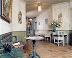 Old-fashioned corridor