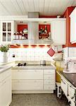 Country kitchen Stock Photo - Premium Royalty-Freenull, Code: 689-05612296
