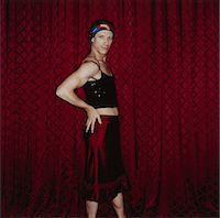 Cross-dressing Man Stock Photo - Premium Royalty-Freenull, Code: 6106-05620150