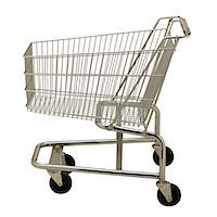 empty shopping cart - Shopping Cart Stock Photo - Premium Royalty-Freenull, Code: 6106-05621870