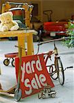 Yard Sale Stock Photo - Premium Royalty-Free, Artist: John Gertz, Code: 6106-05623973