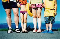 Low Section of a Family at the Beach Stock Photo - Premium Royalty-Freenull, Code: 6106-05624226