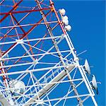 Communications Tower Stock Photo - Premium Royalty-Free, Code: 6106-05624424