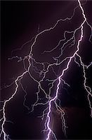 Lightning Stock Photo - Premium Royalty-Freenull, Code: 6106-05624428