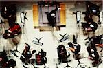 Overhead View of Symphony Orchestra Stock Photo - Premium Royalty-Free, Artist: Zoran Milich, Code: 6106-05626557