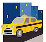 Taxi Stock Photo - Premium Royalty-Free, Artist: Robert Harding Images    , Code: 6106-05626686