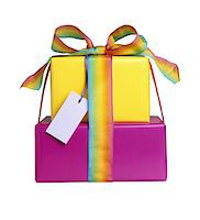 rectangle - Wrapped gifts Stock Photo - Premium Royalty-Freenull, Code: 6106-05629046