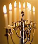Menorah Stock Photo - Premium Royalty-Free, Artist: Michael Alberstat, Code: 6106-05629677