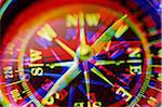 Navigational compass (digital enhancement) Stock Photo - Premium Royalty-Freenull, Code: 6106-05632636