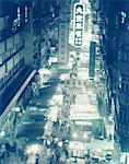 Market at night, Hong Kong, elevated view (toned) Stock Photo - Premium Royalty-Free, Artist: Uwe Umsttter, Code: 6106-05636771