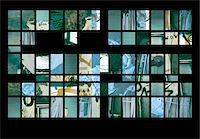 rectangle - Montage of Delapidated Walls in New York Stock Photo - Premium Royalty-Freenull, Code: 6106-05638522