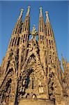 Sagrada Familia Church, Barcelona, Spain Stock Photo - Premium Royalty-Free, Artist: Chad Johnston, Code: 6106-05638652
