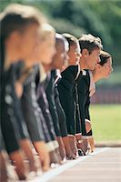 sprint - Business People at the Starting Line Stock Photo - Premium Royalty-Freenull, Code: 6106-05640221