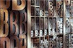 Upper and Lower Case Letterpresses Stock Photo - Premium Rights-Managed, Artist: Daryl Benson, Code: 700-05641666