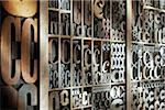 Upper and Lower Case Letterpresses Stock Photo - Premium Rights-Managed, Artist: Daryl Benson, Code: 700-05641667