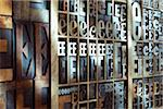 Upper and Lower Case Letterpresses Stock Photo - Premium Rights-Managed, Artist: Daryl Benson, Code: 700-05641669