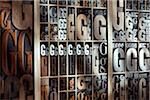 Upper and Lower Case Letterpresses Stock Photo - Premium Rights-Managed, Artist: Daryl Benson, Code: 700-05641671