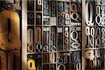 Upper and Lower Case Letterpresses Stock Photo - Premium Rights-Managed, Artist: Daryl Benson, Code: 700-05641681
