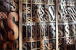 Upper and Lower Case Letterpresses Stock Photo - Premium Rights-Managed, Artist: Daryl Benson, Code: 700-05641683