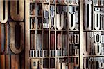 Upper and Lower Case Letterpresses Stock Photo - Premium Rights-Managed, Artist: Daryl Benson, Code: 700-05641685