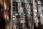 Upper and Lower Case Letterpresses Stock Photo - Premium Rights-Managed, Artist: Daryl Benson, Code: 700-05641687
