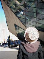 Boy Outside the Royal Ontario Museum, Toronto, Ontario, Canada Stock Photo - Premium Rights-Managednull, Code: 700-05641844