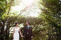 Bride and Groom, Ontario, Canada Stock Photo - Premium Royalty-Freenull, Code: 600-05641962