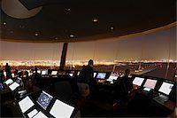 Air Traffic Control Tower, Toronto, Ontario, Canada Stock Photo - Premium Rights-Managednull, Code: 700-05641926