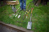 Gardening Tools, Ontario, Canada Stock Photo - Premium Royalty-Freenull, Code: 600-05642016