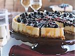 Blueberry Torta Stock Photo - Premium Rights-Managed, Artist: James Tse, Code: 700-05642020