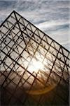 The Louvre Pyramid, Paris, France Stock Photo - Premium Rights-Managed, Artist: Damir Frkovic, Code: 700-05642091
