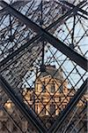 The Louvre Pyramid, Paris, France Stock Photo - Premium Rights-Managed, Artist: Damir Frkovic, Code: 700-05642093