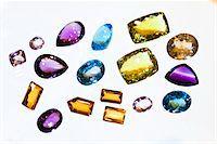 Close-Up of Gemstones Stock Photo - Premium Rights-Managednull, Code: 700-05642240