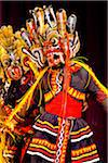 Masked Dancer at Sri Lankan Cultural Dance Performance, Kandy, Sri Lanka Stock Photo - Premium Rights-Managed, Artist: R. Ian Lloyd, Code: 700-05642251