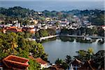 Overview of Lake and City, Kandy, Sri Lanka Stock Photo - Premium Rights-Managed, Artist: R. Ian Lloyd, Code: 700-05642253