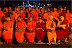 Buddhist Monk Spectators at Kandy Perahera Festival, Kandy, Sri Lanka Stock Photo - Premium Rights-Managed, Artist: R. Ian Lloyd, Code: 700-05642281