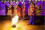 Torch Bearers at Esala Perehera Festival, Kandy, Sri Lanka Stock Photo - Premium Rights-Managed, Artist: R. Ian Lloyd, Code: 700-05642300