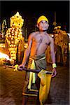 Torch Bearer, Esala Perehera Festival, Kandy, Sri Lanka Stock Photo - Premium Rights-Managed, Artist: R. Ian Lloyd, Code: 700-05642301