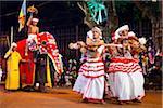 Dancers at the Kandy Perahera Festival, Kandy, Sri Lanka