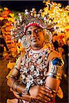 Portrait of Ves Dancer, Esala Perehera Festival, Kandy, Sri Lanka Stock Photo - Premium Rights-Managed, Artist: R. Ian Lloyd, Code: 700-05642329