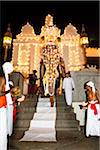 Elephant Descending Steps of Temple of the Tooth, Esala Perahera Festival, Kandy, Sri Lanka Stock Photo - Premium Rights-Managed, Artist: R. Ian Lloyd, Code: 700-05642333
