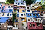 Hundertwasserhaus, Vienna, Austria Stock Photo - Premium Rights-Managed, Artist: R. Ian Lloyd, Code: 700-05642349