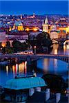 Bridge Over Vltava River, Prague, Czech Republic Stock Photo - Premium Rights-Managed, Artist: R. Ian Lloyd, Code: 700-05642359